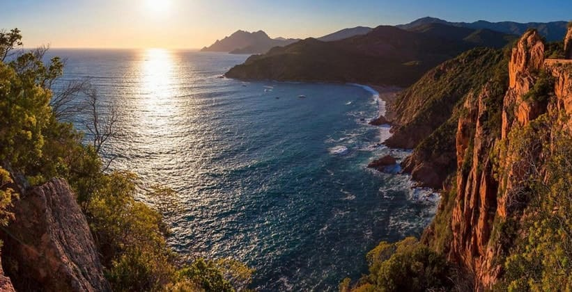 Залив Порто на Корсике