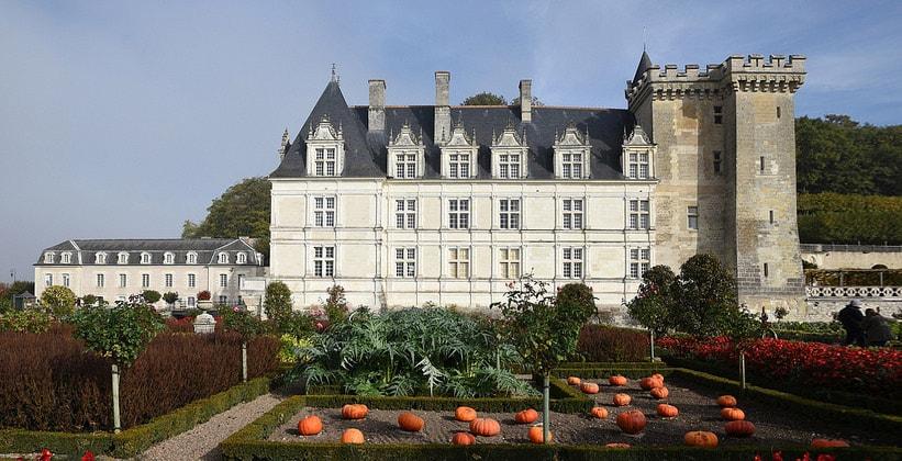 Замок Вилландри во Франции