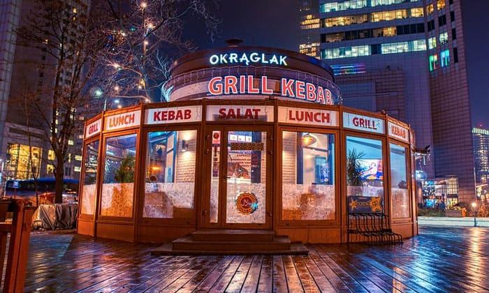 Бистро Okraglak в Варшаве