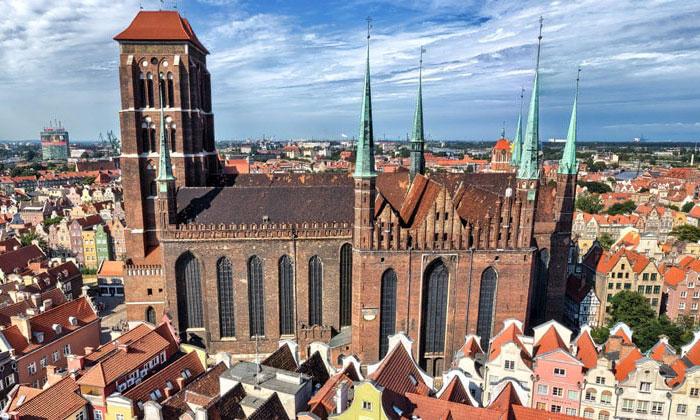 Церковь Девы Марии в городе Гданьск