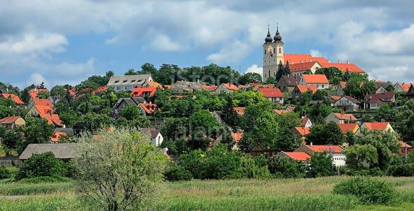 Деревня Тихань в Венгрии