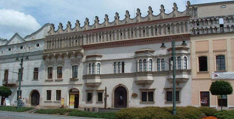 Ренессансный дом Жигмонда Ракоци в городе Прешов (Словакия)