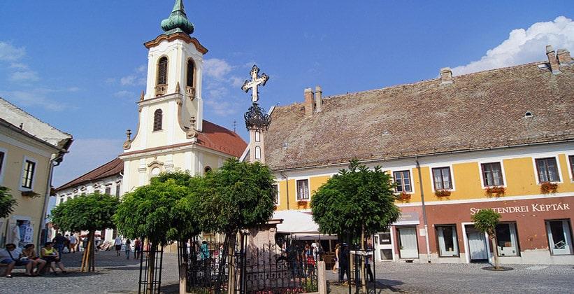Город Сентендре в Венгрии
