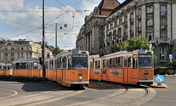 Городские трамваи Будапешта