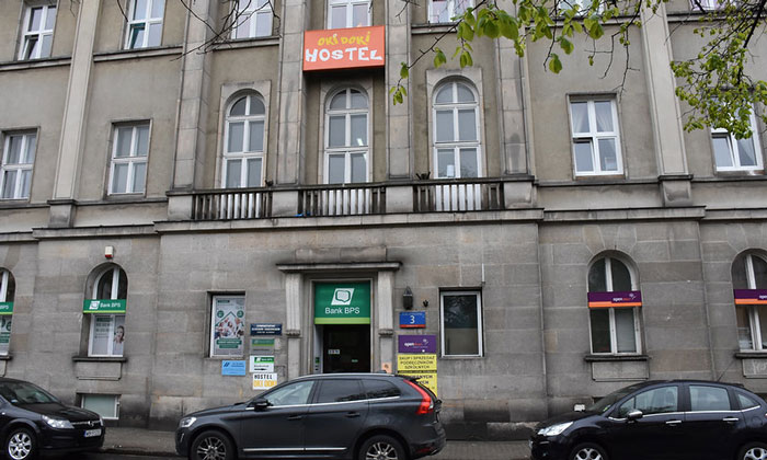 Хостел Oki Doki в Варшаве