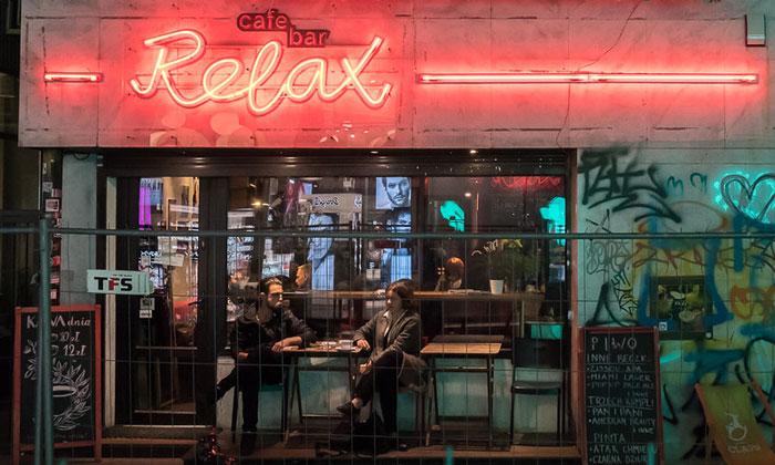 Кафе-бар Relax в Варшаве