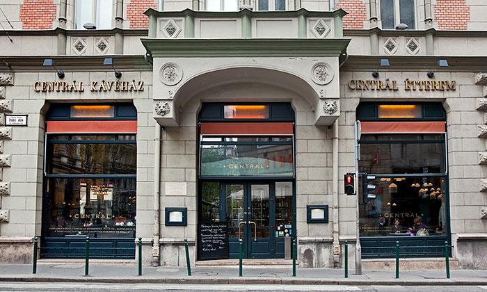 Кафе Central в Будапеште