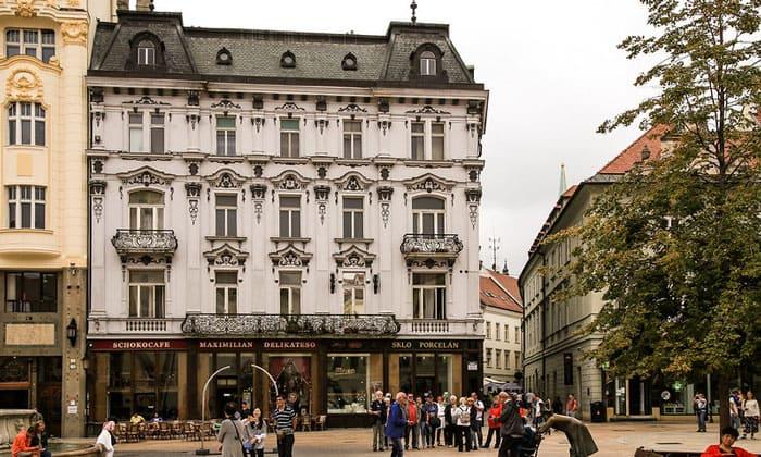 Кафе Maximilian Delikateso в Братиславе