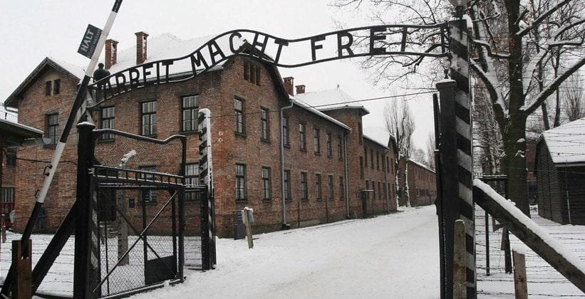 Концентрационный лагерь Освенцим в Польше