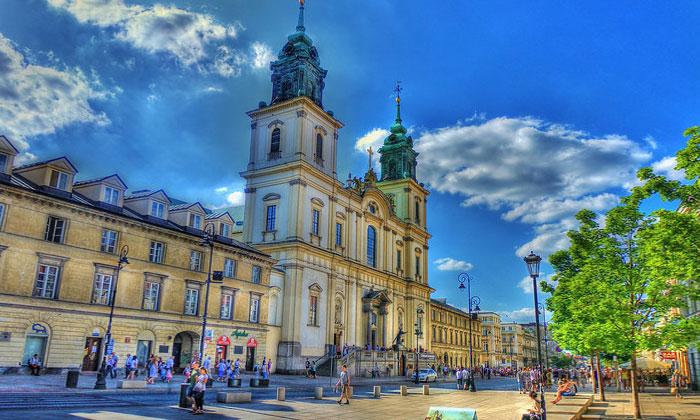 Костёл Святого Креста в Варшаве