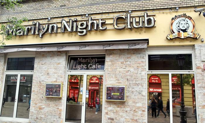 Ночной клуб Marilyn в Будапеште