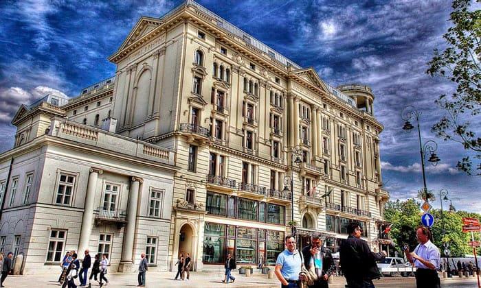 Отель Bristol в Варшаве