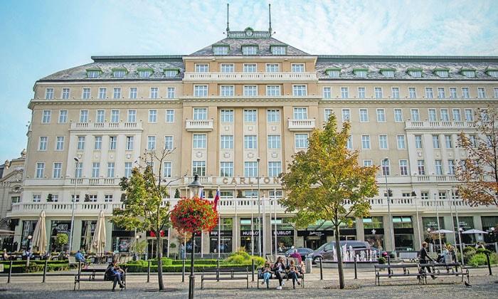 Отель Carlton в Братиславе
