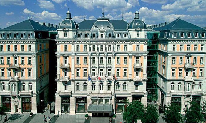 Отель Corinthia в Будапеште