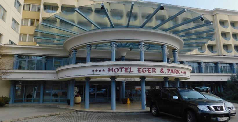 Отель Eger and Park в городе Эгер (Венгрия)