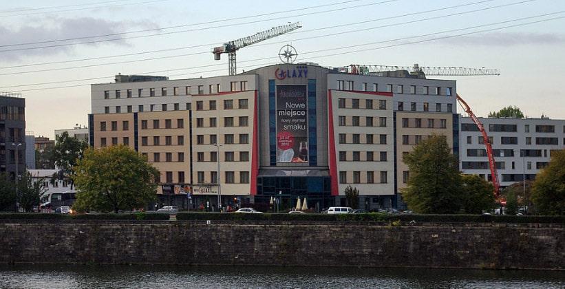 Отель Galaxy в городе Краков