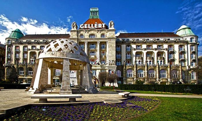 Отель Gellert в Будапеште