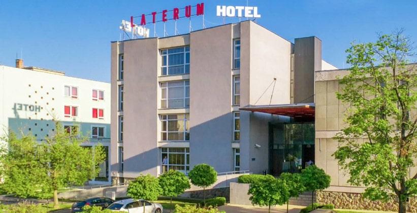 Отель Laterum в городе Печ