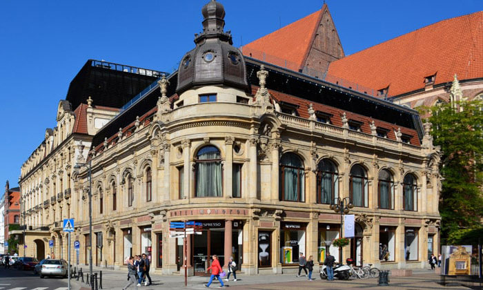 Отель Monopol в городе Вроцлав