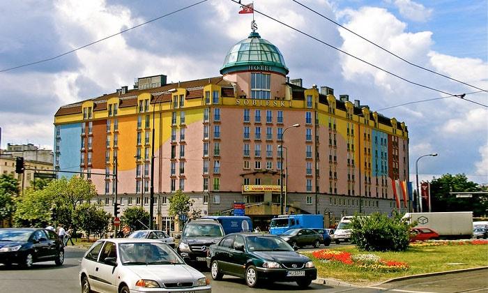 Отель Sobieski в Варшаве