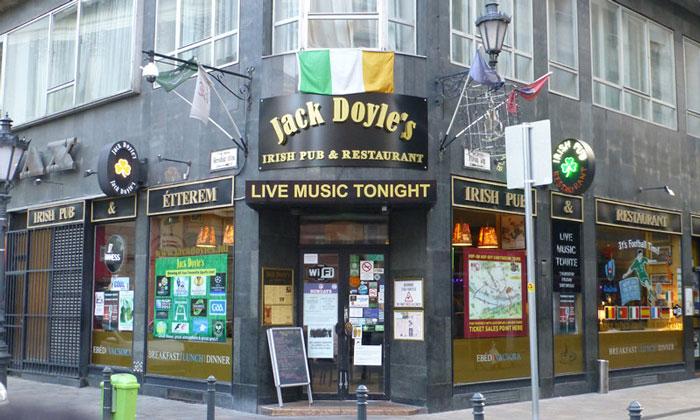 Ирландский паб Jack Doyle`s в Будапеште