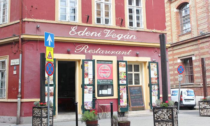 Ресторан Edeni Vegan в Будапеште