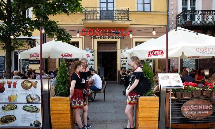 Ресторан Gosciniec в Варшаве