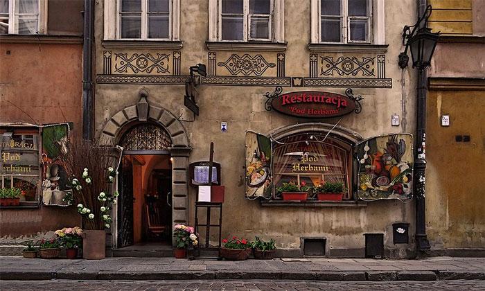 Ресторан «Pod Herbami» (Варшава)