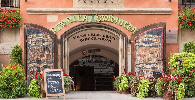 Ресторан Piwnica Swidnicka в городе Вроцлав (Польша)