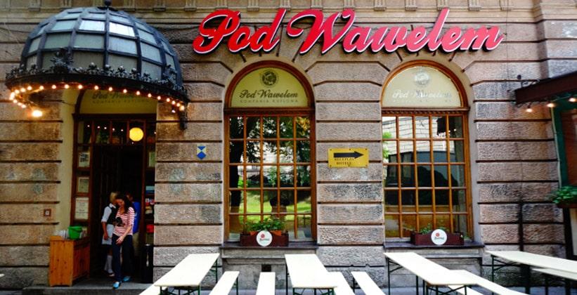 Ресторан Pod Wawelem в Кракове (Польша)