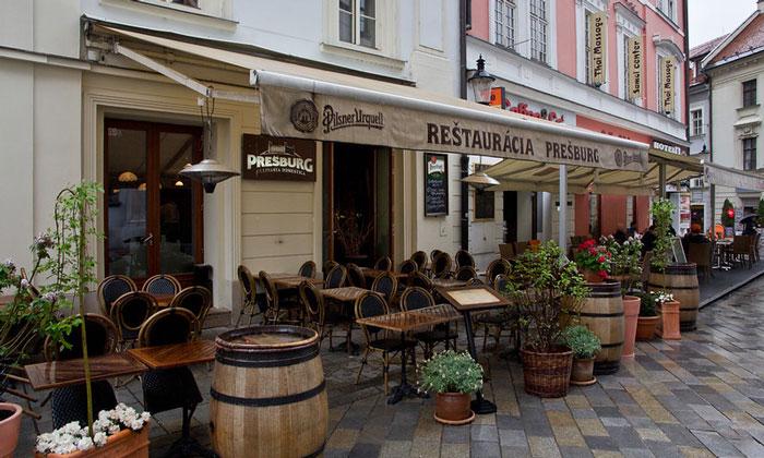 Ресторан Presburg в Братиславе