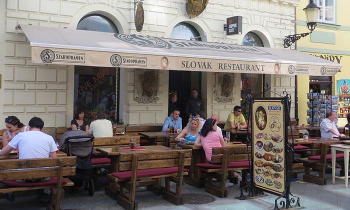 Ресторан Slovak в Братиславе