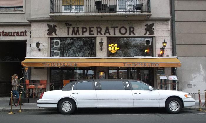 Ресторан The Imperator в Будапеште