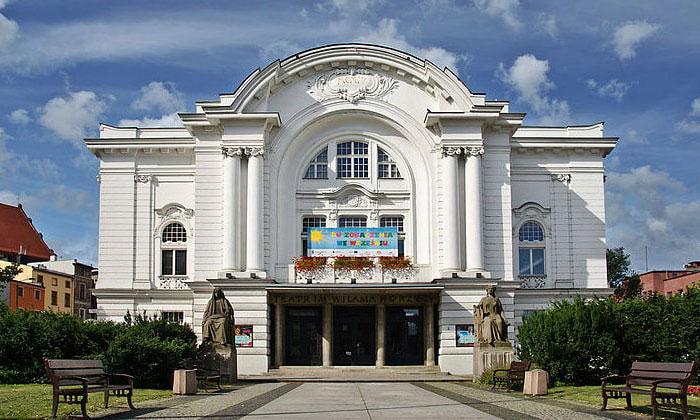 Театр имени Уильяма Хоржица в городе Торунь