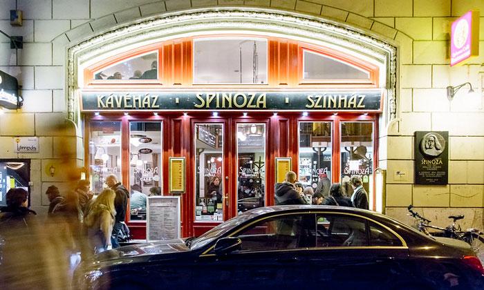 Театральное кафе Spinoza в Будапеште