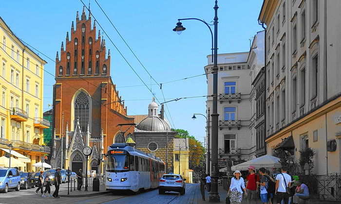 Трамвай Кракова