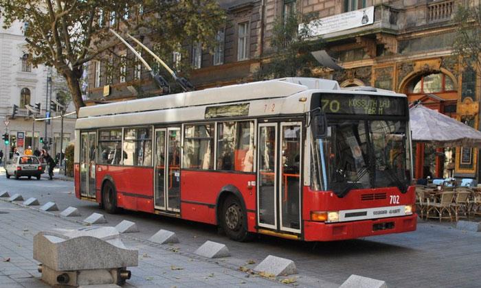Троллейбус Будапешта