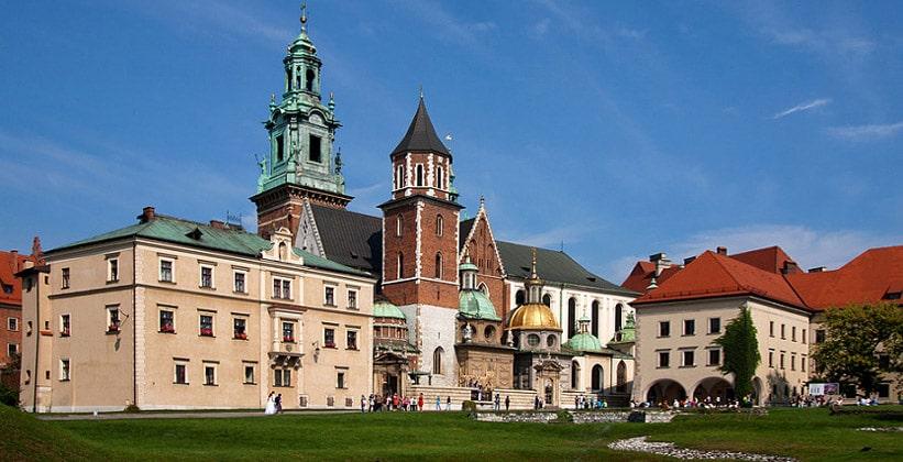 Вавельский собор в Кракове (Польша)