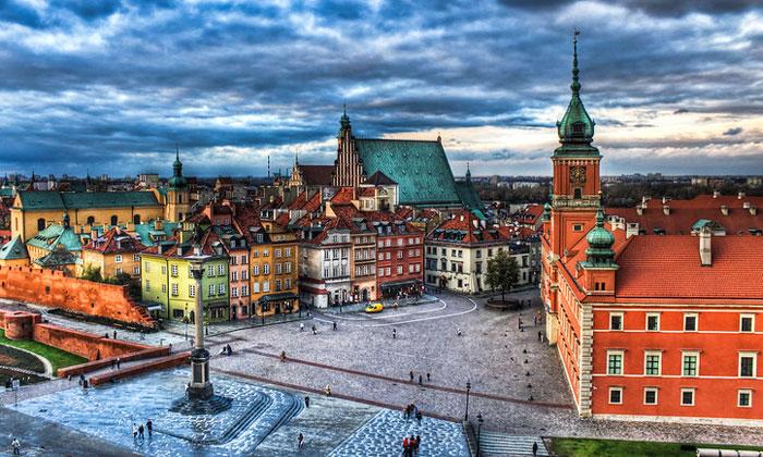 Замковая площадь Варшавы
