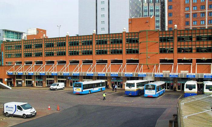 Автовокзал «Европа» в Белфасте