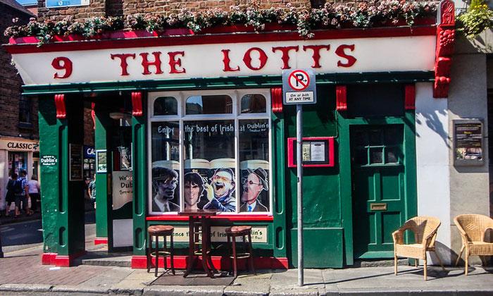 Паб «The Lotts» (Дублин, Рес. Ирландия)