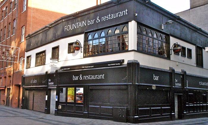 Бар-ресторан «Fountain» в Белфасте