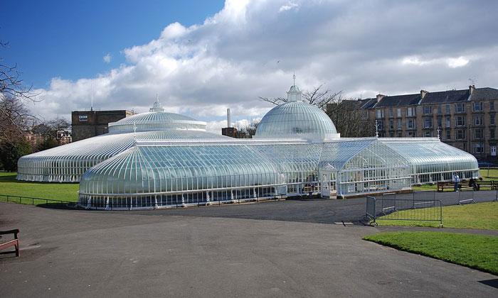 Дворец Ботанического сада Глазго