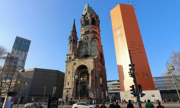 Церковь кайзера Вильгельма в Берлине