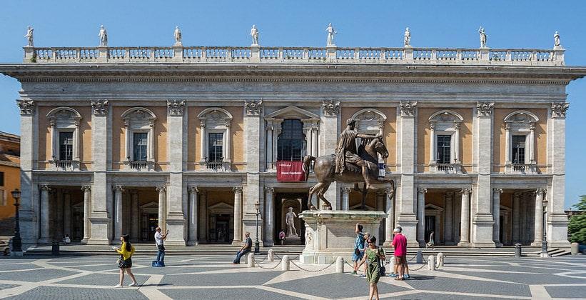 Дворец (музей) консерваторов в Риме