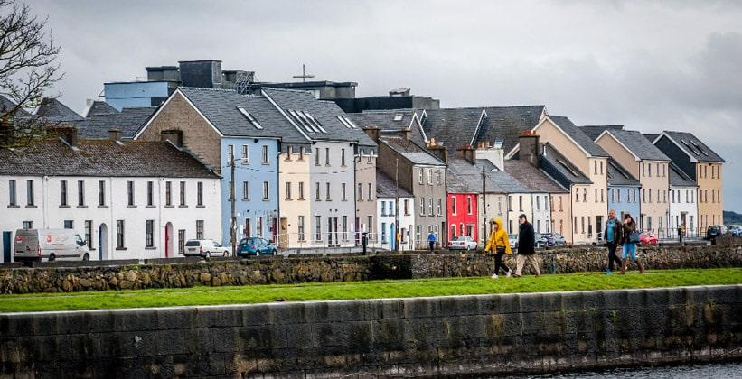 Город Голуэй в Ирландии
