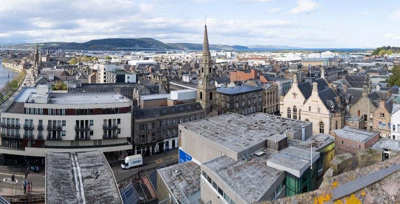 Город Инвернесс в Шотландии