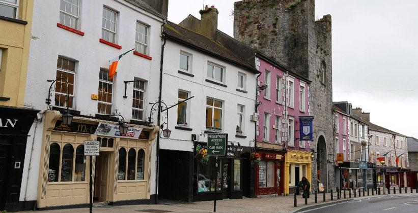 Одноимённый город Кашел в Ирландии