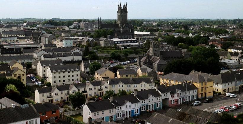 Город Килкенни в Ирландии