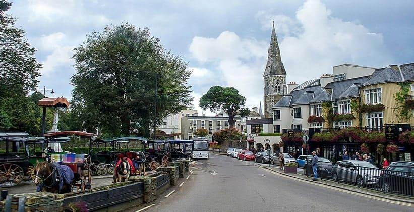 Город Килларни в Ирландии
